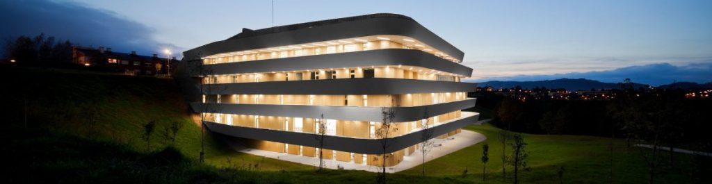 Edificio Campus da Auga Ourense CITACA Universidade de Vigo